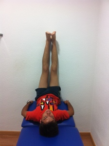 Postura para cadena posterior